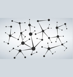 network and connection background for your vector image