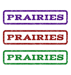Prairies watermark stamp vector