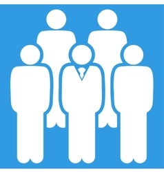 Staff icon vector