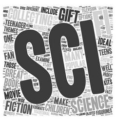 Sci Fi Collectibles That Make Great Gifts for Kids vector image