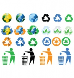 2008624 recycle vector image vector image