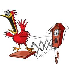 cuckoo vector image vector image