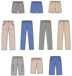 Pants vector image vector image
