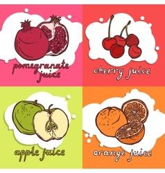Fruit Design Concept vector image