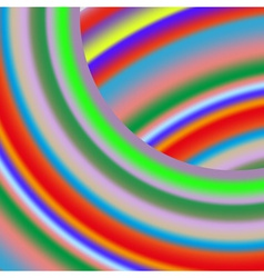 Colorful curved stripes transition background vector