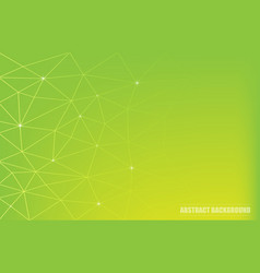 abstract polygonal background with connecting vector image
