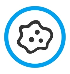 Amoeba Rounded Icon vector