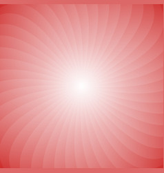 geometric spiral background from rotated rays vector image