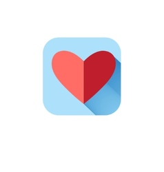 In love icon heart vector image