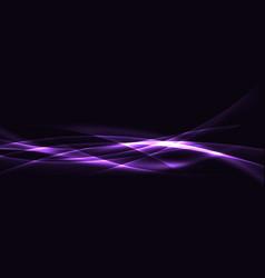 Light energy swoosh web speed futuristic lines vector
