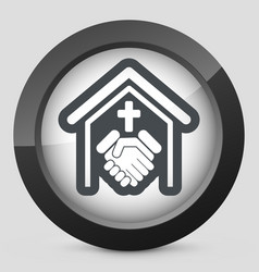 religious relationship vector image