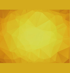 yellow polygonal background yellow abstract vector image