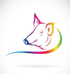 Pig design vector image vector image