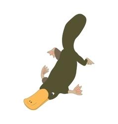 Platypus icon cartoon style vector image