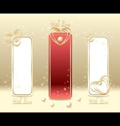 Set Love Labels vector image