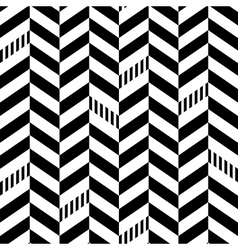 Classic Seamless Chevron Pattern vector image
