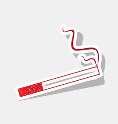 smoke icon great for any use new year vector image