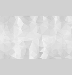 abstract light silver gray polygon abstract vector image