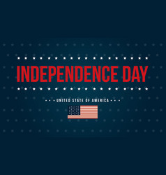 art independence day background style vector image