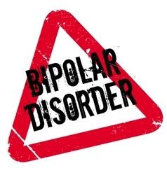 Bipolar Disorder rubber stamp vector
