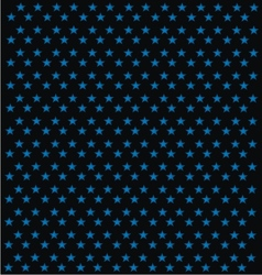 Black Background With Blue Star Patterns vector