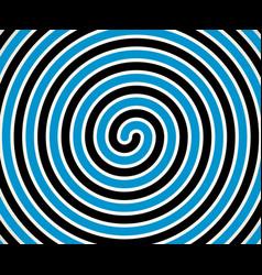 Black-blue duotone spiral element background vector