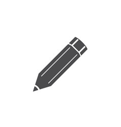 flat icon pencil for web business finance and vector image