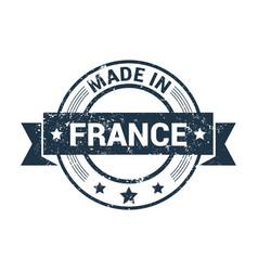 france stamp design vector image