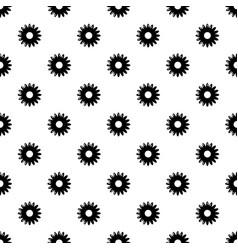 honey flower pattern seamless vector image