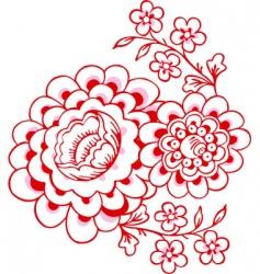 Magnolias vector