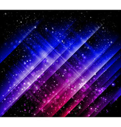 neon glow vector image