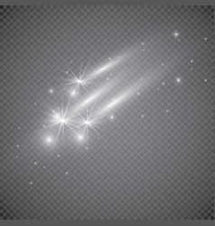 Special effect on a transparent background vector