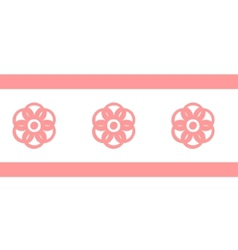 Collection pink seamless vector image