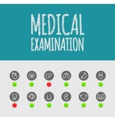 Medical Examination vector image vector image