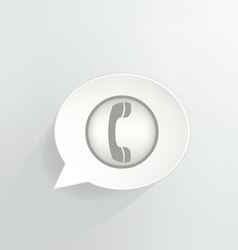 Contact vector image