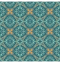 retro geometric seamless pattern vector image