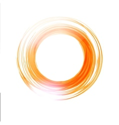 abstract circle Banner Logo design template vector image