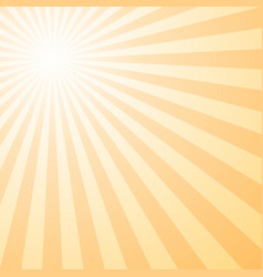 abstract retro gradient sun burst pattern vector image