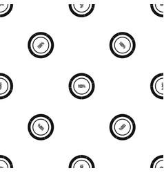 diagram pie chart pattern seamless black vector image