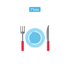 diet fit outline icon vector image