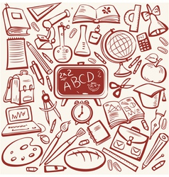 Education sketch vector