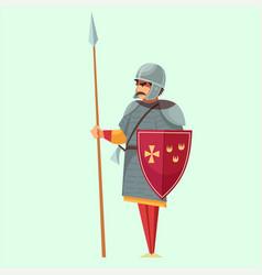 Medieval castle attribute vector