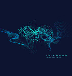 Particle curved wave vector
