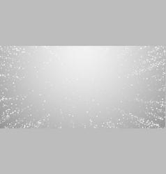 Random white dots christmas background subtle fly vector