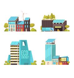 Smart city flat concept vector