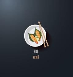 Asian Restaurant menu template vector image