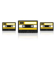 Audiocassette vector