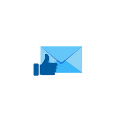Best mail logo icon design vector