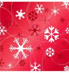 Christmas snowflakes vector