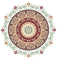 circle ornament version vector image